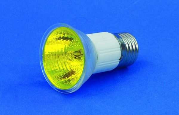 OMNILUX JDR 230V/75W E-27 1500h yellow, discoland.fi