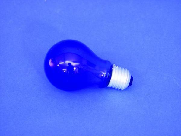 OMNILUX A19 25W E27-polttimo, sininen 230V/25W E-27 blue