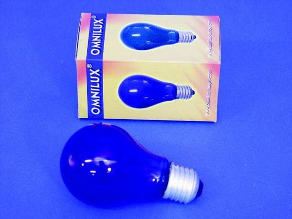 OMNILUX A19 25W E27-polttimo, sininen 23, discoland.fi