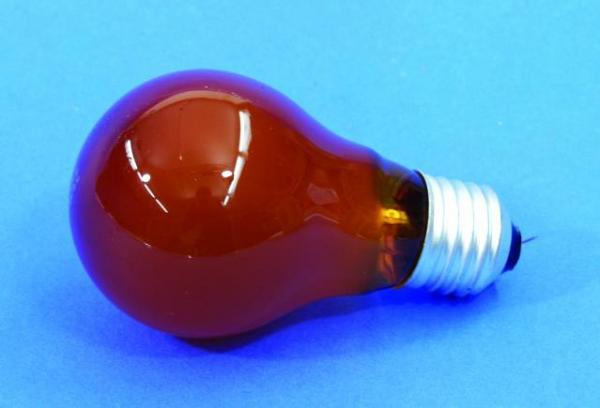 OMNILUX A19 25W E27-polttimo, oranssi, 230V/25W E-27 orange