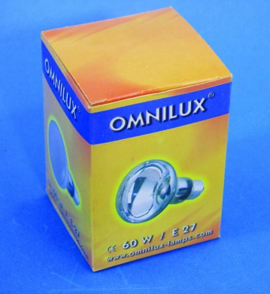 OMNILUX R80 230V/60W E-27 kirkas polttim, discoland.fi