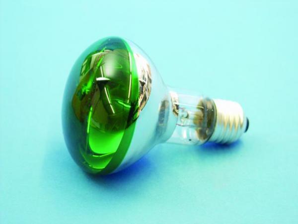 OMNILUX R80 230V/60W E-27 vihreä, green Voit käyttää normaalin hehkulampun tilalla!