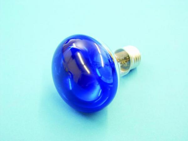 OMNILUX R80 230V/60W E-27 blue, Voit käyttää normaalin hehkulampun tilalla!