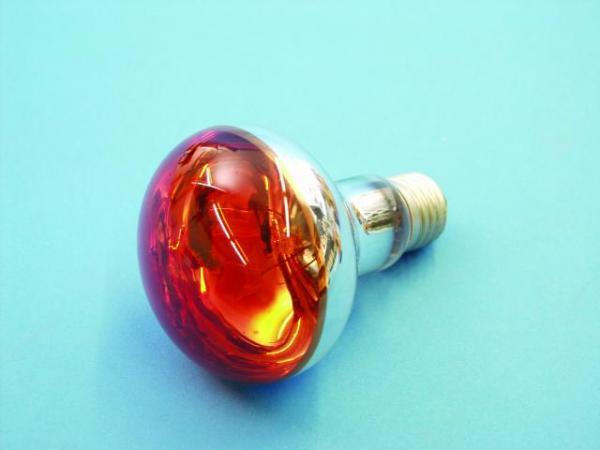 OMNILUX R80 230V/60W E-27 oranssi, Voit käyttää normaalin hehkulampun tilalla!