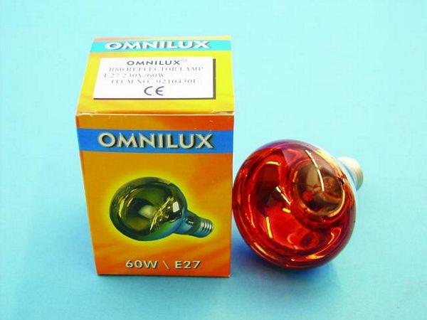 OMNILUX R80 230V/60W E-27 oranssi, Voit , discoland.fi