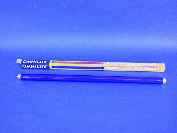 OMNILUX Sininen loisteputki pituus 60cm , discoland.fi