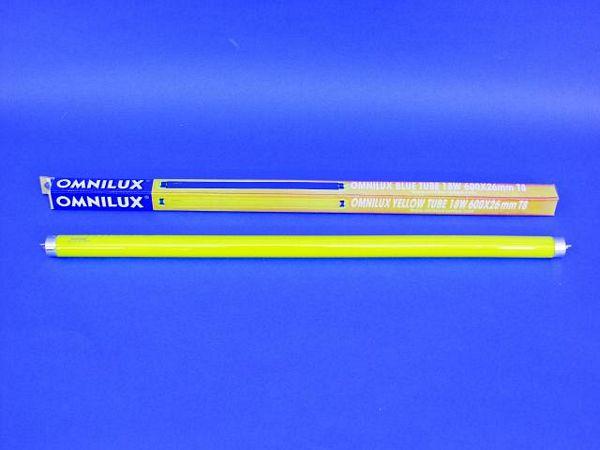 OMNILUX Keltainen loisteputki 600mm tube, discoland.fi