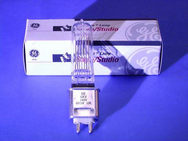 GE HX600 GKV 240V 600W G-9.5 250h 3200K., discoland.fi