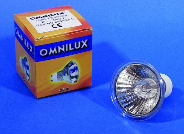 OMNILUX GU-10 polttimo 50W 1500h 25°, s, discoland.fi