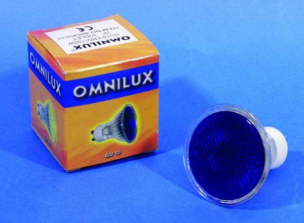 OMNILUX GU-10 230V/50W 1500h 25° violet, discoland.fi