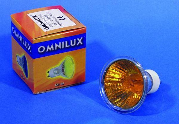 OMNILUX GU-10 230V/50W 1500h 25° orange, discoland.fi