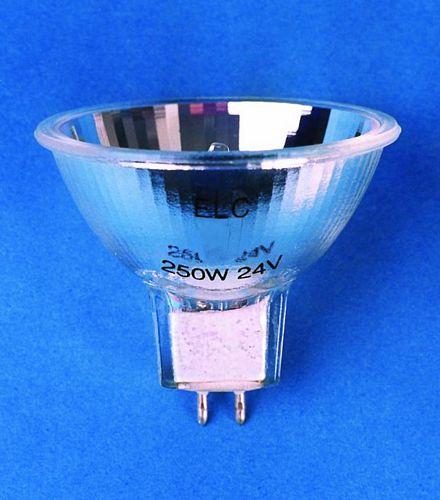 GE ELC 24V/250W GX-5.3 50h w. 50mm refl., discoland.fi