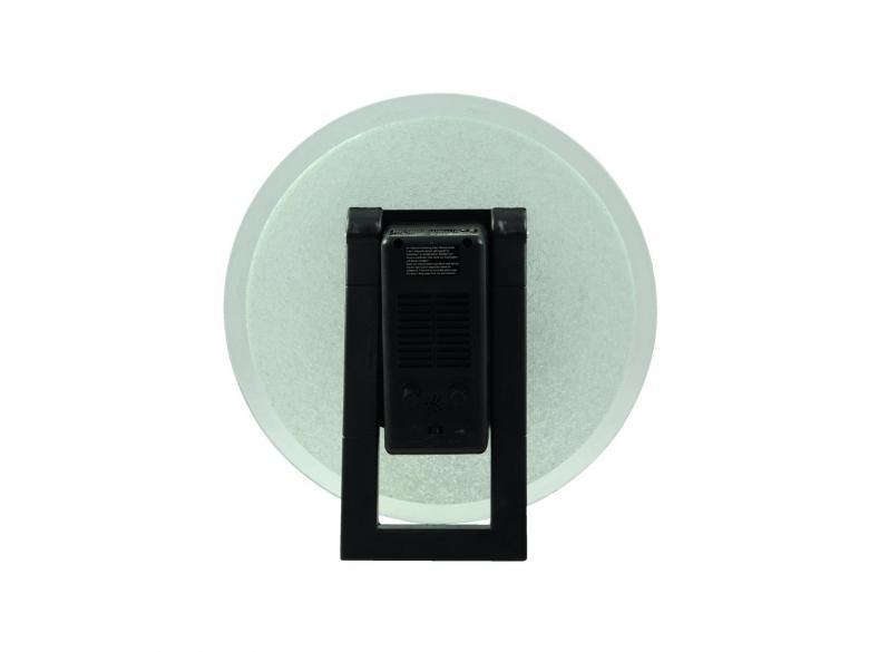 EUROLITE Plasmakiekko 30cm vihreät säteet. Plasmasäteet liikkuvat musiikin tahtiin tai kosketuksesta, toimii myös autossa 12V tupakansytytin pistokkeesta, on mukana paketissa, kuten myös 12v virtalähde. Lautasessa mukana mikrofoni, joka tunnistaa musiikin. Mitat 305 x 150 x 305 mm sekä paino 2.0kg.