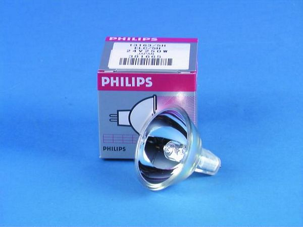 PHILIPS ELC 24V/250W GX-5.3 500h 50mm re, discoland.fi