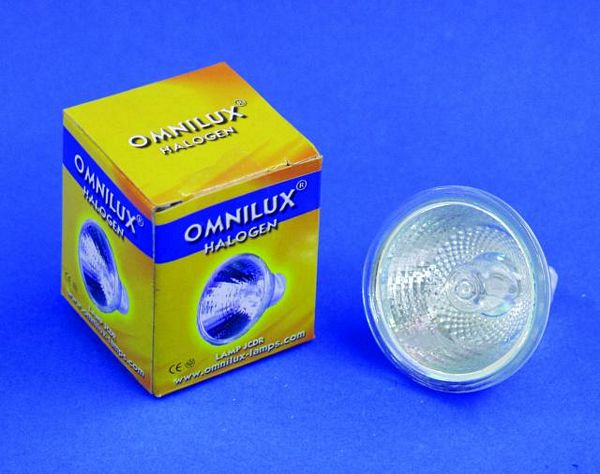 OMNILUX JCDR 230V/35W GX-5.3 1500h 38° +C, Reflector with coverglass