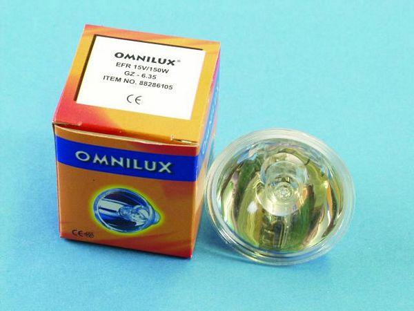 OMNILUX EFR 15V/150W GZ-6.35 500h refl., discoland.fi