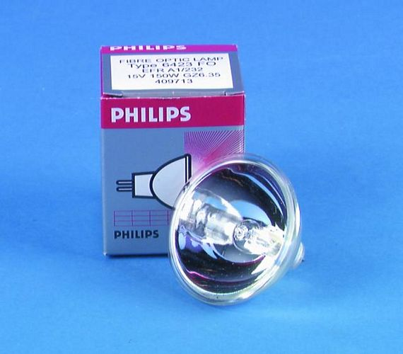PHILIPS EFR 15V/150W 50h GZ-6.35 50mm re, discoland.fi