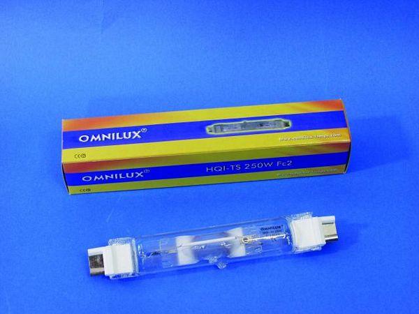 OMNILUX HQI-TS 95V 250W Fc2 6000h green, discoland.fi