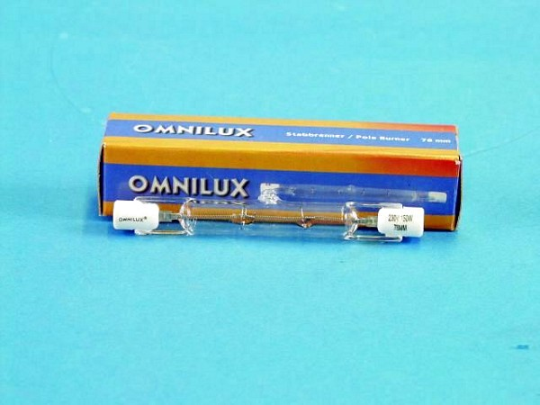 OMNILUX 230V 150W R7s 78mm pole burner