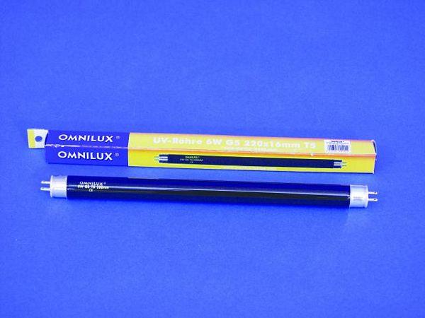 OMNILUX UV putki 6W G5 T5 5000h 220 x 16, discoland.fi