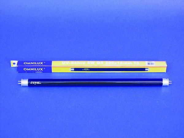 OMNILUX UV tube 8W G5 T5 5000h 300 x 16m, discoland.fi