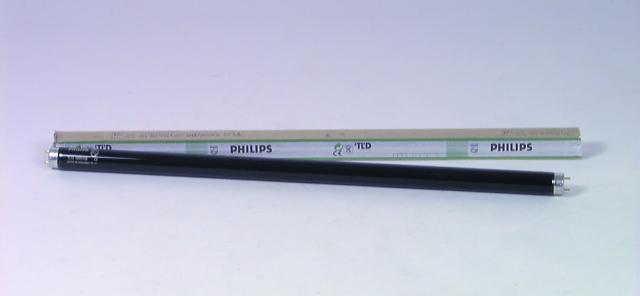PHILIPS UV tube slim-line 18W 60cm, Must, discoland.fi