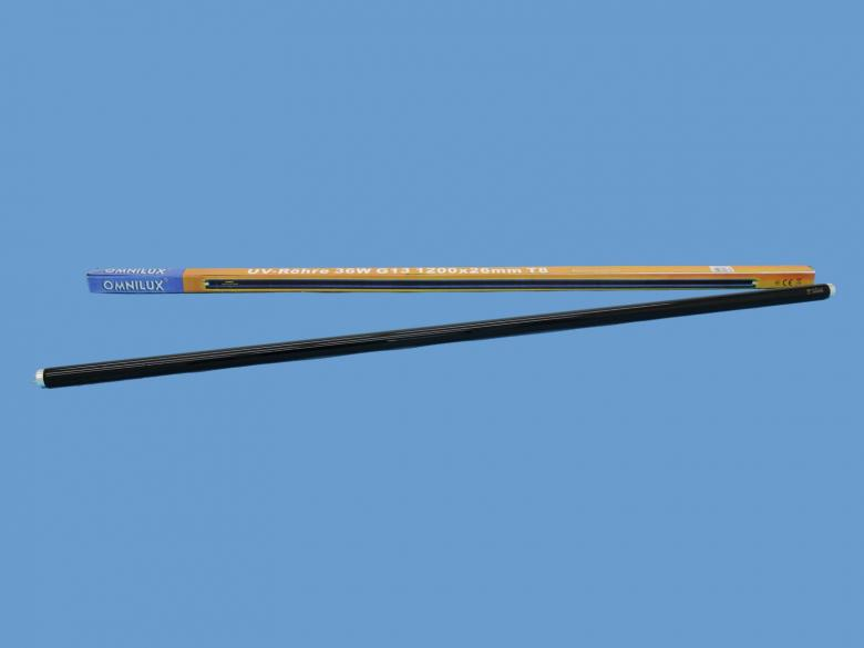 OMNILUX Mustavaloputki slimline 120cm 36, discoland.fi