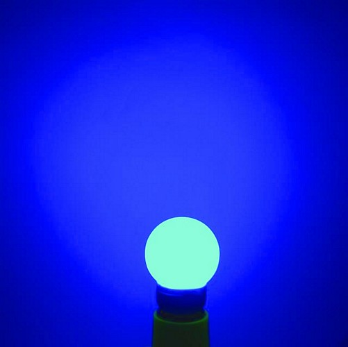 OMNILUX LED globe 50mm blue E27