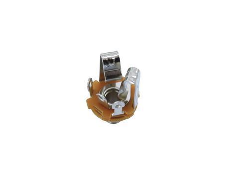 OMNITRONIC Plugi stereo runko asennus naaras. Mounting jack socket stereo 6.35mm