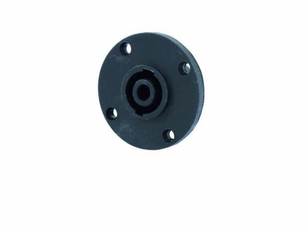 POISTO Omnitronic Speakon Runko liitin NL4 4-pole male speaker mounting connector, round!!!