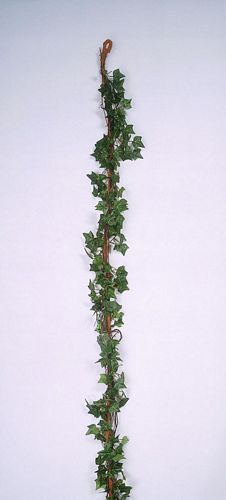 DECO POISTUNUT TUOTE...........180cm Ivy Garland green wrapped ar. bast
