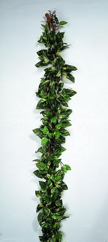 DECO POISTUNUT TUOTE... 180cm Pothos garland wrapped around bast