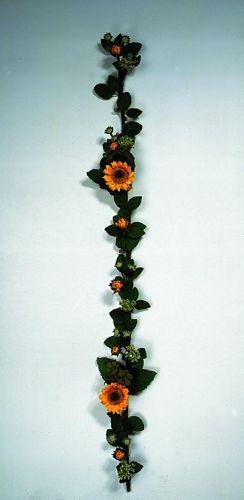 DECO 120cm Sunflower Garland, discoland.fi