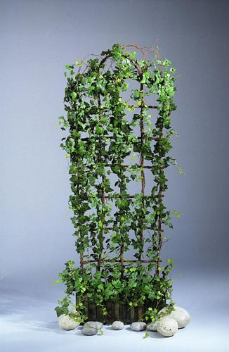 DECO Ivy trellis in wooden planter-box 1, discoland.fi