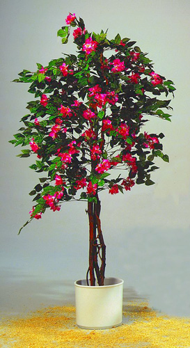 DECO 240cm Bougainvillea red cemented