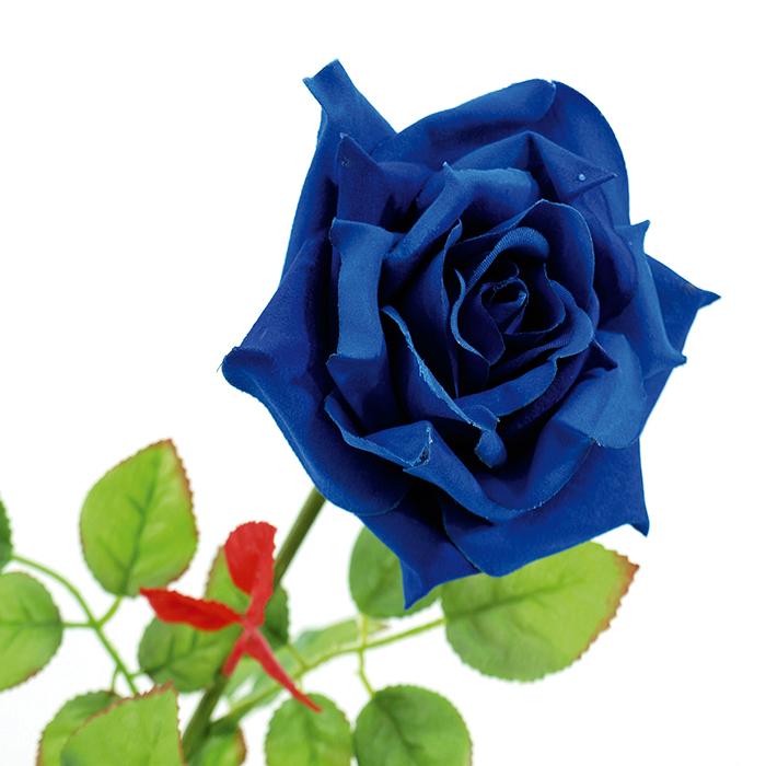 EUROPALMS 75cm Ruusu Ornella sininen. Rose Ornella, blue