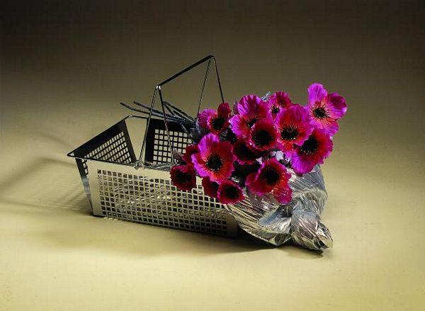 EUROPALMS 60cm Unikko violetti. Poppy Velvet, violet. Poppy Velvet, perfect for bouquets Huom!! LOPPU