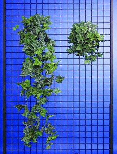 EUROPALMS 40+100cm Cubic hanging modern ivy Set