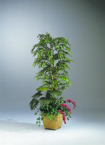 EUROPALMS 210cm Bamboo arrangement Set. , discoland.fi