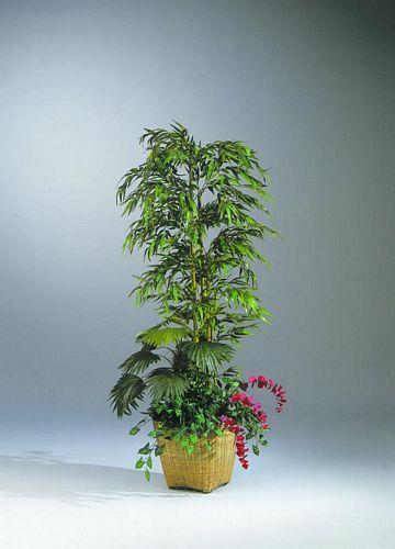 EUROPALMS 210cm Bamboo arrangement Set. , discoland.fi