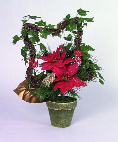 DECO Poinsettia bouquet, discoland.fi