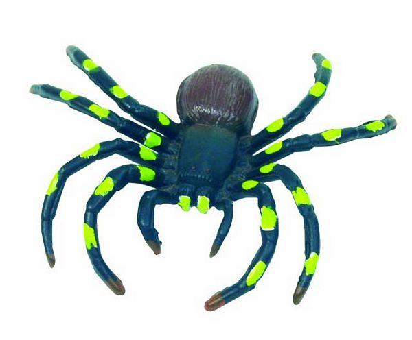 DECO Spider bold black/yellow 10 cm, Poi, discoland.fi