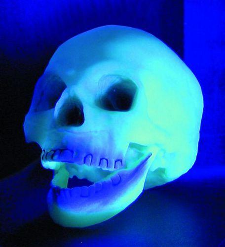 DECO POISTUNUT...TUOTE:::Skull UV-Active