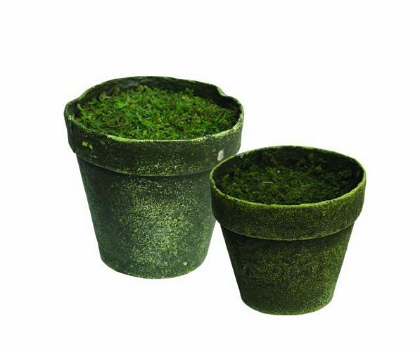 DECO Pot antik-green, unbreakable, foame, discoland.fi