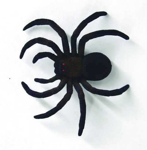 EUROPALMS Halloween Spider 2 pieces ca 10 cm flocked