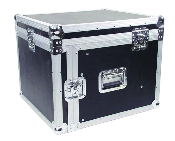 ROADINGER Kuljetuslaatikko Special Combo Case Pro 6U. Professional flight case for 483mm units (19