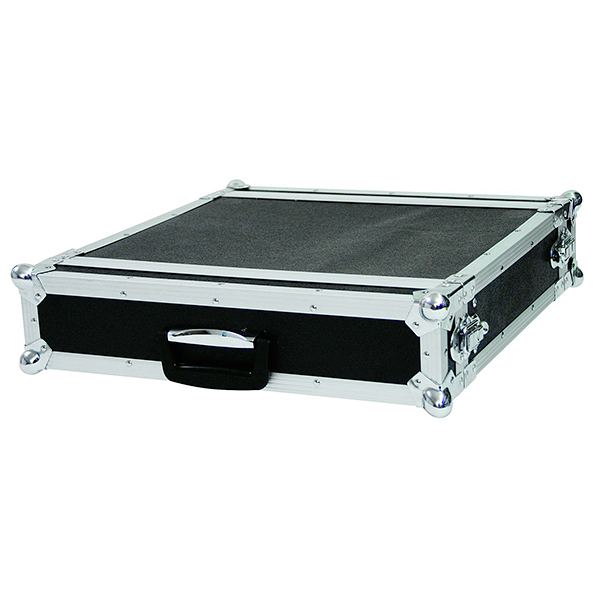 OMNITRONIC Efektiräkki 2U 40cm syvä musta Professional flight case for 483 mm units (19