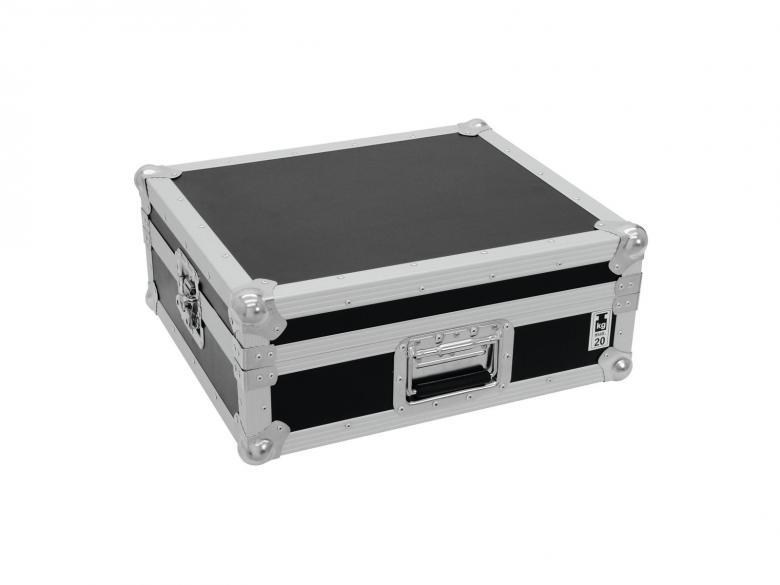 ROADINGER Kuljetuslaatikko levysoittimelle on laadukas ja kestävä, väri musta, soveltuu mm. Technics, Omnitronic, Numark sekä Reloop soittimille. Turntable case tour Pro black -B-. Professional flight case for turntables. Mitat 526 x 450 x 215 mm sekä paino 7kg.