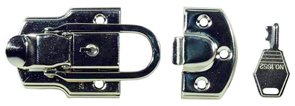 OMNITRONIC Spring lock, large 92x52 with key