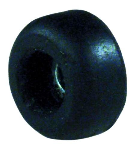 OMNITRONIC Kumi jalka, esim. räkkien pohjaan, koko 25mm. varustettu teräs sisäkehällä. Rubber foot, small diameter 25mm